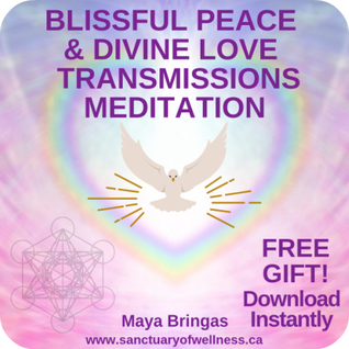 Free Blissful Peace and Divine Love Metatronia Transmissions Meditation, Archangel Metatron, Maya Bringas